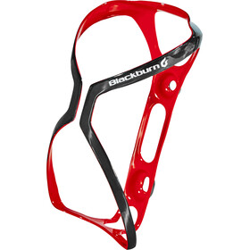 Blackburn Cinch Carbon - Portabidón - rojo/negro